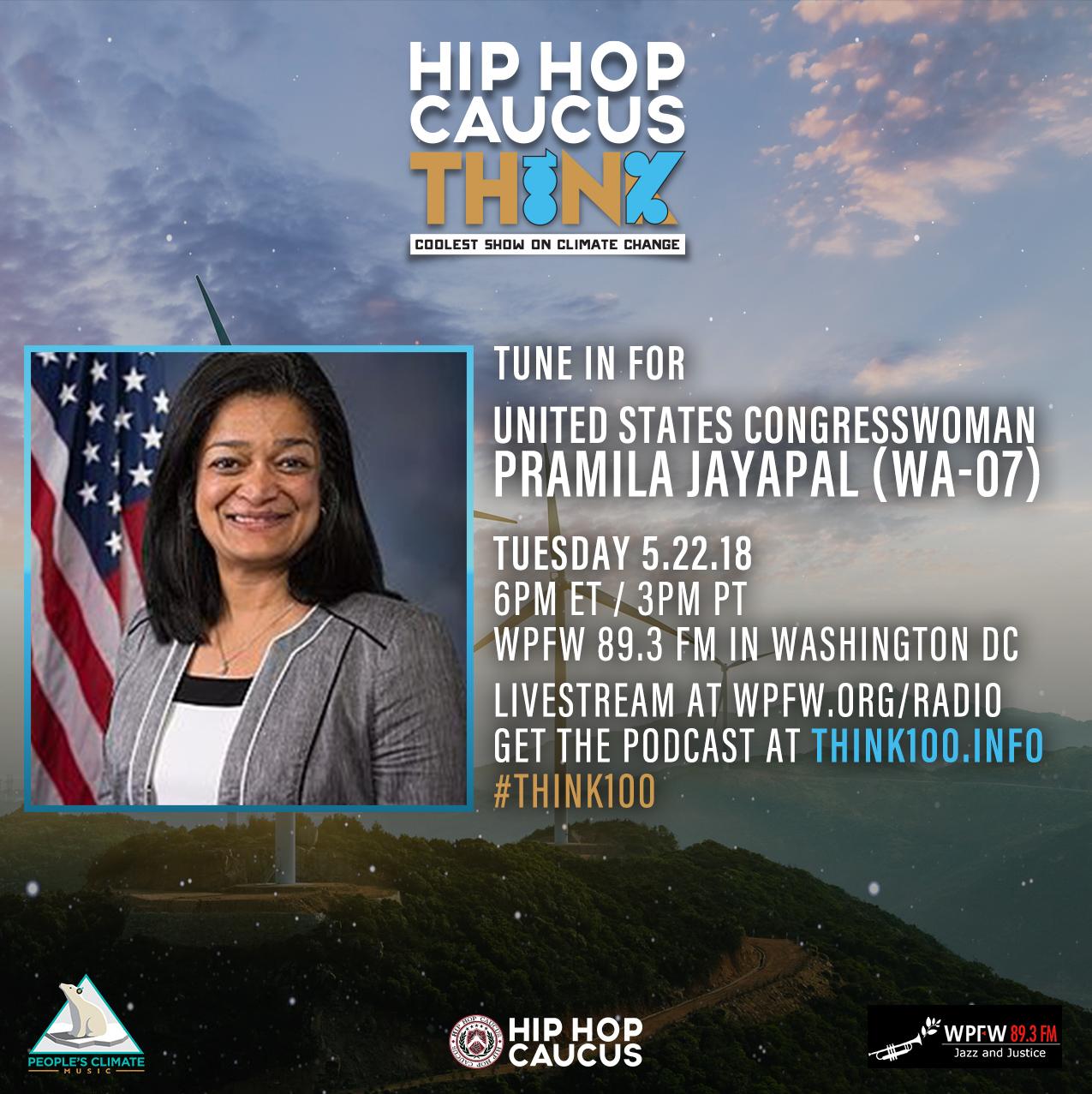 United States Congresswoman Pramila Jayapal (WA-07)