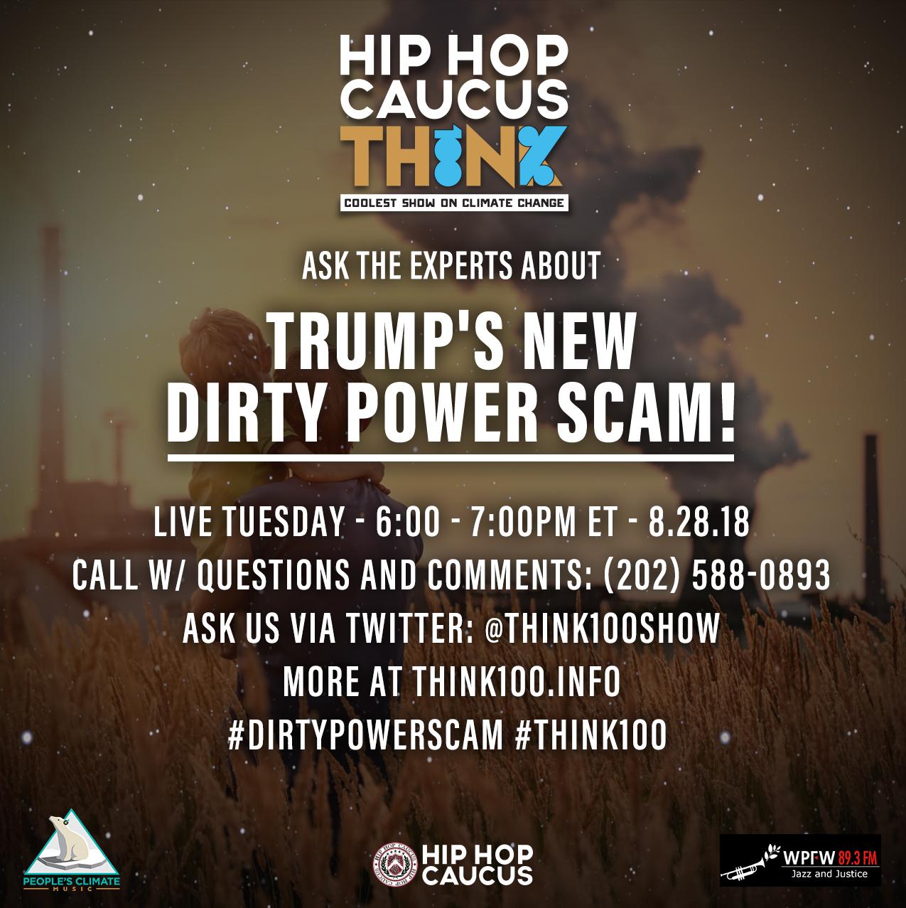 "Episode 22: ""#DirtyPowerScam"" [August 28, 2018] - Hip Hop Caucus"