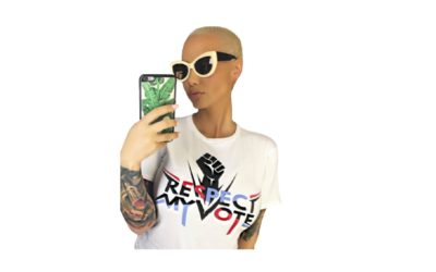 PRESS RELEASE: Amber Rose Joins 'Respect My Vote!' ahead of Midterm Elections