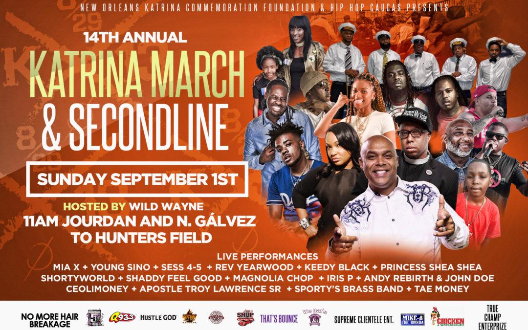 Hip Hop Caucus co-hosting Hurricane Katrina 14th Anniversary March & Second Line