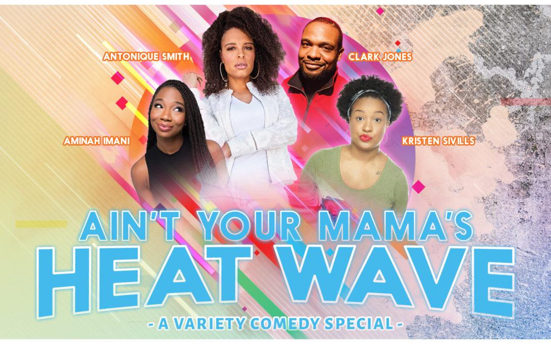 """Hip Hop Caucus hosting Comedy Show: """"Ain't Your Mama's Heat Wave!"""" – Norfolk, VA – Nov 21, 2019"""