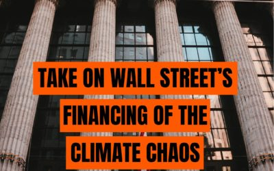Join Us: STOP THE MONEY PIPELINE! Let's end the financing of fossil fuels harming our communities & planet.