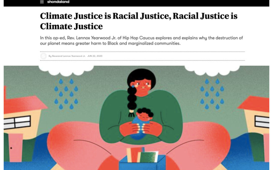 "READ: ""Climate Justice is Racial Justice, Racial Justice is Climate Justice"" [Shondaland]"